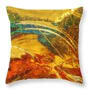 Glassworks Series-multicolor I Throw Pillow