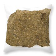 Glauconite Sandstone Throw Pillow