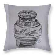 Glazed Tea Caddy Throw Pillow