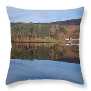 Glen Affric Reflections Throw Pillow