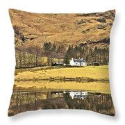 Glencoe Cottage II Throw Pillow