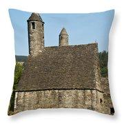 Glendalaugh 9 Throw Pillow