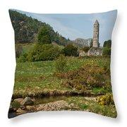 Glendalaugh Tower 14 Throw Pillow