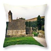Glendalaugh Tower 16 Throw Pillow