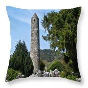 Glendalaugh Tower 17 Throw Pillow