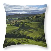 Glenelly Valley, County Tyrone Throw Pillow
