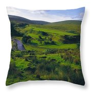 Glenelly Valley, Sperrin Mountains, Co Throw Pillow