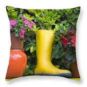 Glengarriff, County Cork, Ireland Throw Pillow