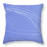 Glider Aerobatics At Airshow Canvas Photo Poster Print Throw Pillow