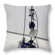 Glidescope Throw Pillow