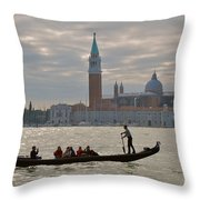 Gliding By Throw Pillow
