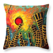 Glimmer Of Hope By Madart Throw Pillow