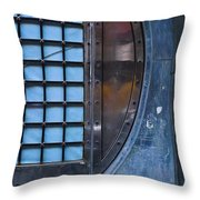 Glimmer Twin Throw Pillow