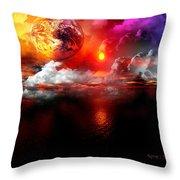 Global Warming- Throw Pillow