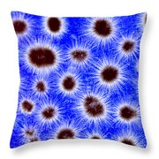 Gloeotrichia Throw Pillow