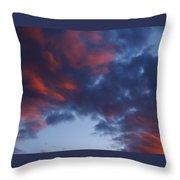 Glorious Clouds Throw Pillow