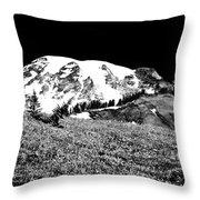 Glorious Mount Rainier  Throw Pillow