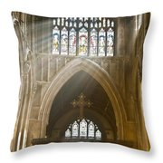 Glorious Rays Of Heavenly Light Throw Pillow