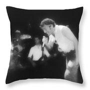 Glory Days - Bruce Springsteen Throw Pillow