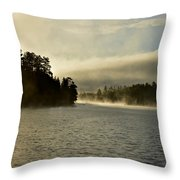 Glory In The Morning 2 Throw Pillow
