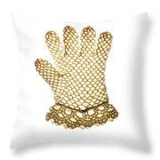 Glove Throw Pillow by Bernard Jaubert