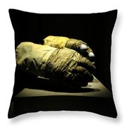 Gloves Of Apollo Throw Pillow
