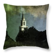 Glowing In The Mist Of... Throw Pillow