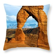 Glowing In The Sunlight Throw Pillow