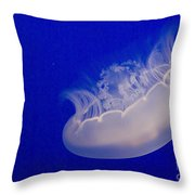 Glowing Jelly Throw Pillow