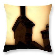 Glowing Resurrection Throw Pillow