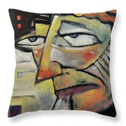 Glum Throw Pillow