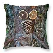 Gnarly Pete Throw Pillow