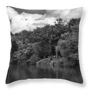 Gnoll Country Estate 2 Mono Throw Pillow