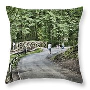 Gnoll Country Estate 3 Throw Pillow