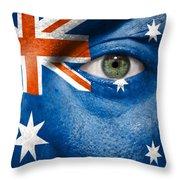 Go Australia Throw Pillow