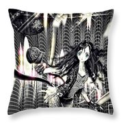 Go Dance Throw Pillow