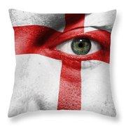 Go England Throw Pillow