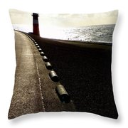 Go Forward Throw Pillow