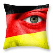 Go Germany Throw Pillow by Semmick Photo