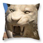 Go Get 'em Tigers Throw Pillow
