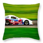 Go Speed Racer Go Throw Pillow