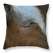 Goat Dreams Throw Pillow
