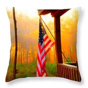 God Country Home Throw Pillow