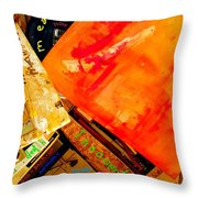 God Equals Back Up Memory Safe From Decay Mt Trash Partitioning And Even Hacking Throw Pillow