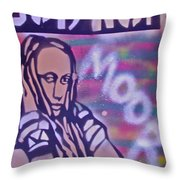 Goddess Hop Throw Pillow