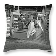 Going For 8 Throw Pillow by Shawn Naranjo
