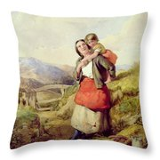 Going Home Throw Pillow