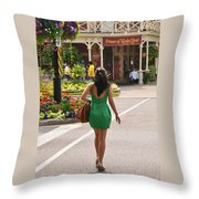 Going To The Prince Throw Pillow