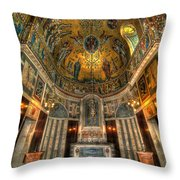 Gold And Holy Throw Pillow