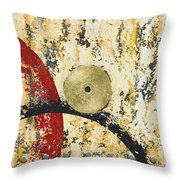 Gold And Silver 1 Throw Pillow